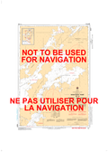 Wightman Point to/à Whiskey Jack Portage Canadian Hydrographic Nautical Charts Marine Charts (CHS) Maps 6247