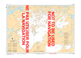 Lac La Ronge Canadian Hydrographic Nautical Charts Marine Charts (CHS) Maps 6281