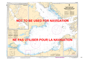 Great Slave Lake / Grand lac des Esclaves, Western Portion / Partie ouest Canadian Hydrographic Nautical Charts Marine Charts (CHS) Maps 6370