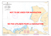 Beaufort Sea/ Mer de Beaufort Canadian Hydrographic Nautical Charts Marine Charts (CHS) Maps 7600