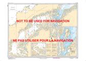 Eskimo Lakes Canadian Hydrographic Nautical Charts Marine Charts (CHS) Maps 7608