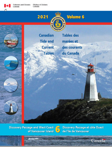 Canadian Tide Tables 6