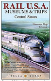 Railway Map Central USA