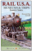 Railway Map Eastern USA