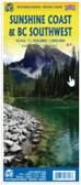 Sunshine Coast BC Southwest itmb Travel Map