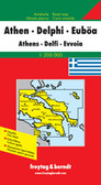 Athens Delphi Ewoia Travel Map