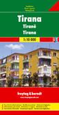 Tirana Albania Travel Map