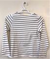 T-shirt: Women's striped - blue/white (Style1)