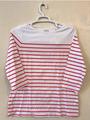 T-shirt: Women's striped - red/white (2019)