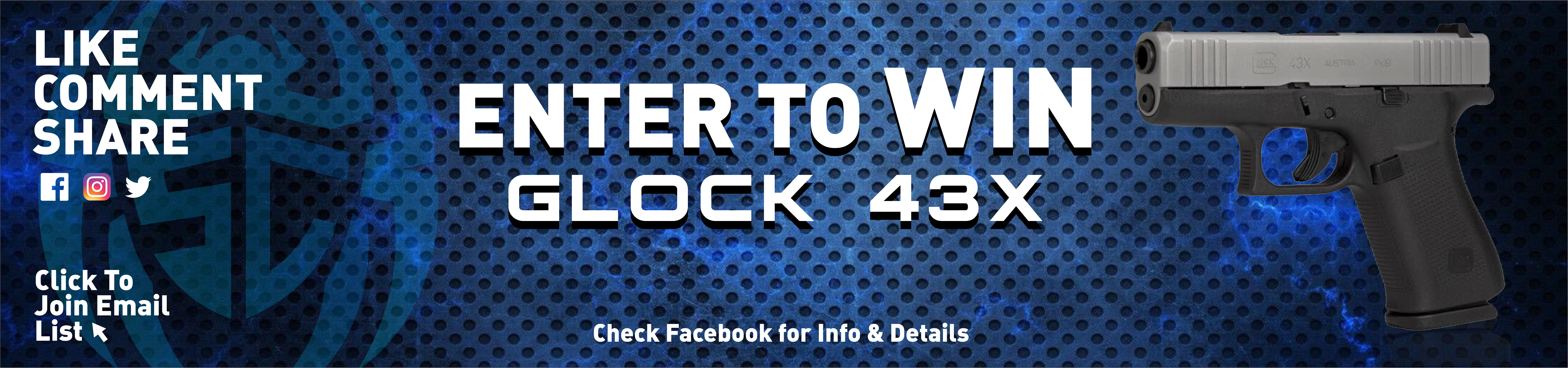 Glock 43X and Holster Giveaway!! - Spider Concealment