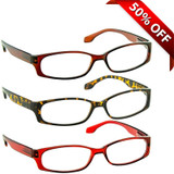 Reading Glasses Value 3 Pack