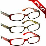 Reading Glasses Value 3 Pack