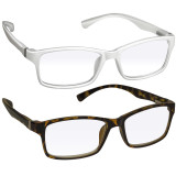 Webster Computer Reading Glasses 2 Pack White Tortoise