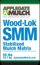 Applegate Mulch Wood-Lok SMM, 50 lb bale