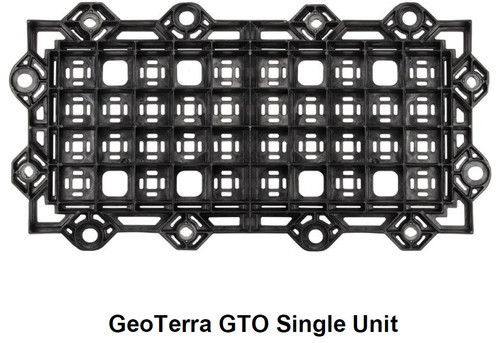 "Geoterra GTO Portable Construction Mats, 17.5"" x 36.5"""