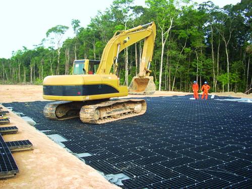 "Geoterra Portable Construction Mats, 18.8"" x 37.8"""