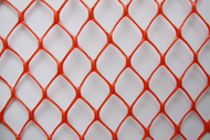 Diamond Mesh Heavy Duty Orange Safety Fence | 20 lb | 4' x 100' Roll
