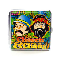 "Cheech & Chong Deluxe Cigarette Case - 85 mm ""Green"""