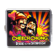 "Cheech & Chong Deluxe Cigarette Case  - 100mm ""Rise to the Occasion"""
