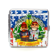 "Cheech & Chong Deluxe Cigarette Case - 85 mm ""USA"""