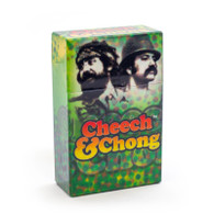 "Cheech & Chong Flip Top Cigarette Case - 85mm ""Reflections"""