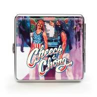 "Cheech & Chong Deluxe Cigarette Case - 85 mm ""Truckin"""