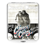 "Cheech & Chong Deluxe Cigarette Case  - 100mm ""Party"""