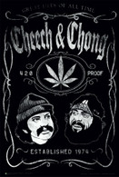 Cheech and Chong EST 1974 Poster 24 x 36 inches