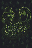 Cheech And Chong Green Smoke Poster 24 x 36 inches