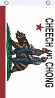 Cheech & Chong Cali Bear Fly Flag 3' x 5'
