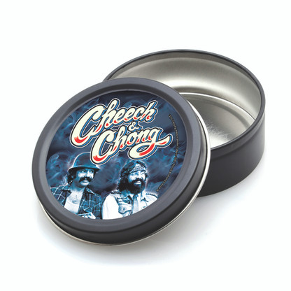 ROUND STASH TIN - CHEECH & CHONG - BOYS IN BLUE