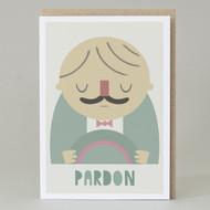 'Pardon' Card