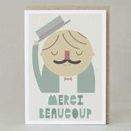 'Merci Beaucoup' Card