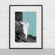 """Watson returning to the Reichenbach Falls"" Ltd Ed Print"