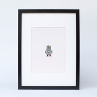 """Green Eyed Robot"" Ltd Ed Signed Print"
