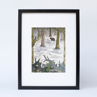 """Bear Wood"" Ltd Ed Print"