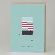 Lighthouse Age 5: Birthday Card