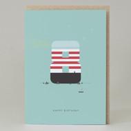 Lighthouse Age 8: Birthday Card