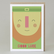 'Lepricon' Good Luck Card