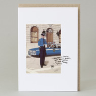 'Serpico' Wee Bean Man Card