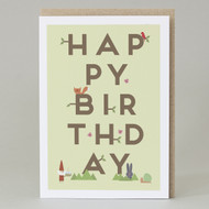 Happy Birthday Branches Card