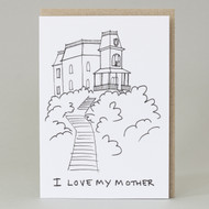 'I Love My Mother' Card