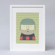'Little Lumberjack' Print