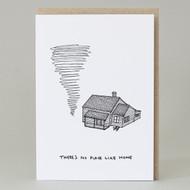 'No place like home' Card