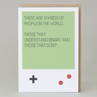Binary Joke Card