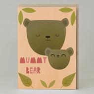 """""""Mummy Bear"""" Card"""