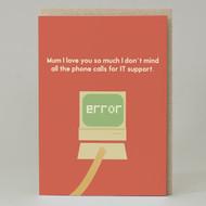 Mum IT support Card