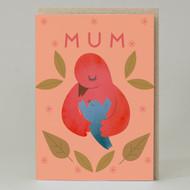Mum bird Card