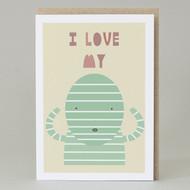 """""""I love my mummy"""" Card"""