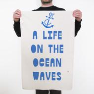 'A Life On The Ocean Waves' Tea Towel